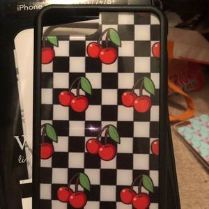 detailed look c0ac9 8e3fe Cherry checker iPhone 7/8 Plus case NWT